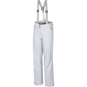 Hannah KENTA bílá 34 - Dámské lyžařské softshellové kalhoty