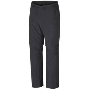 Hannah STRETCH šedá L - Pánské odepínatelné kalhoty