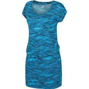 Hannah ZANZIBA modrá 42 - Dámské šaty