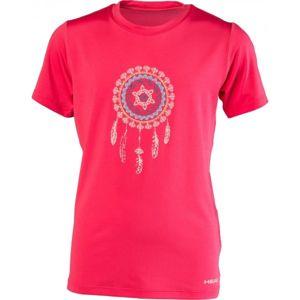 Head APRIL růžová 140-146 - Dívčí triko