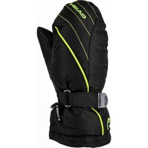 Head CORA zelená 11-13 - Dětské zimní rukavice