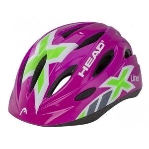 Head HELMA KID Y01 růžová (48 - 52) - Dětská cyklistická helma
