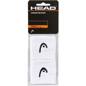 Head WRISTBAND 2,5 bílá NS - Potítka na zápěstí