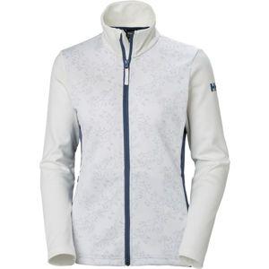 Helly Hansen GRAPHIC FLEECE JACKET bílá XL - Dámská softshellová bunda