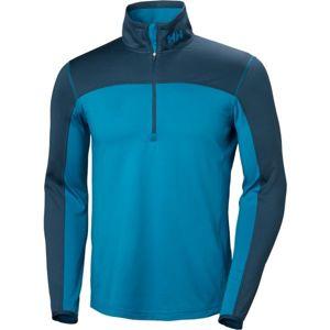Helly Hansen PHANTOM 1/2 ZIP 2.0 modrá XL - Pánské triko