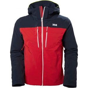 Helly Hansen SIGNAL JACKET červená M - Pánská lyžařská bunda