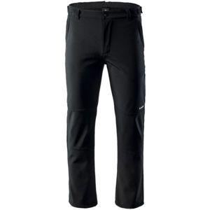 Hi-Tec CABANO černá XXL - Pánské softshellové kalhoty