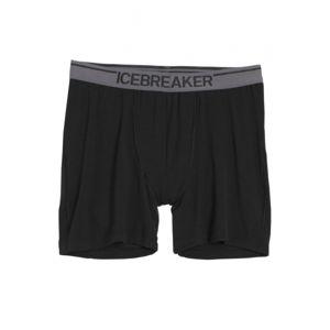 Icebreaker ANATOMICA BOXERS černá M - Pánské spodky