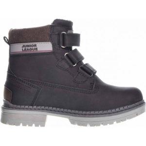 Junior League GRENA černá 30 - Dětská zimní obuv