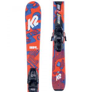 K2 INDY FDT 4.5  124 - Dětské allmountain lyže s vázáním
