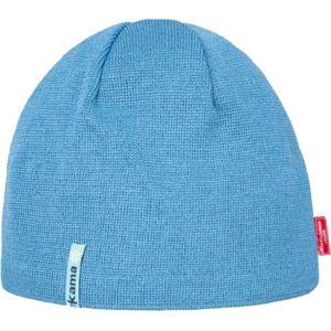 Kama MERINO+WINDSTOPPER modrá UNI - Unisex čepice