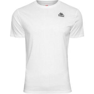 Kappa AUTHENTIC ESSOR SLIM bílá L - Pánské tričko