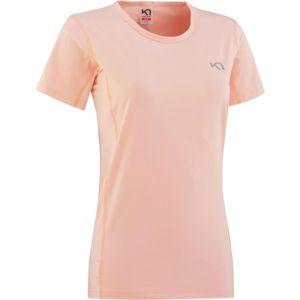 KARI TRAA NORA TEE světle růžová M - Dámské sportovní tričko