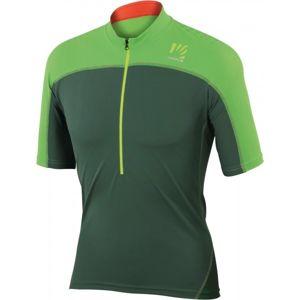 Karpos RAPID JERSEY zelená XL - Pánský dres