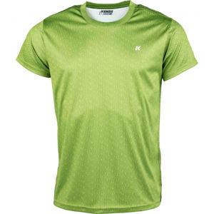 Kensis GOZO zelená XL - Pánské sportovní triko
