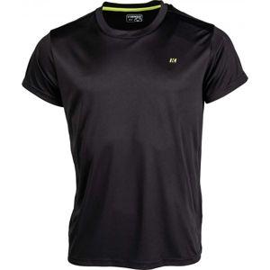 Kensis VON černá M - Pánské triko