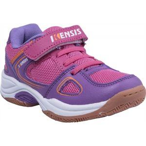 Kensis WAFI fialová 31 - Dětská sálová obuv
