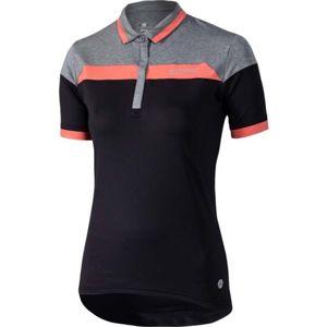 Klimatex LUA černá XL - Dámská cyklistická polokošile