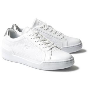 Lacoste CHALLENGE 120 bílá 39 - Dámské kožené tenisky