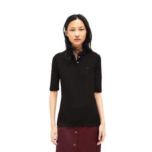 Lacoste S S/S BEST POLO černá 34 - Dámské polo tričko