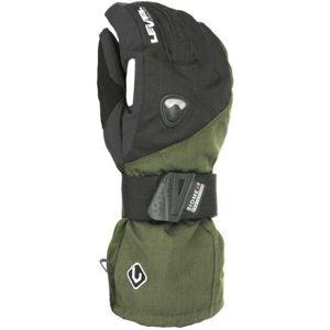 Level FLY CLAY černá 9.5 - Pánské snowboardové rukavice