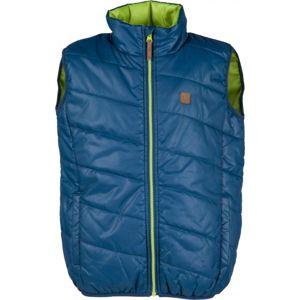 Lewro AKI 116-170 modrá 116-122 - Dětská prošívaná vesta
