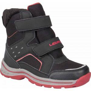Lewro CRONUS černá 26 - Dětská zimní obuv
