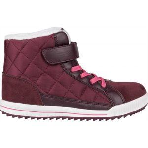 Lewro CUBIQ II fialová 35 - Dětská zimní obuv