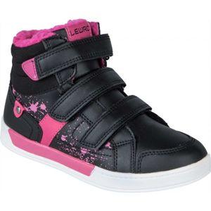 Lewro CUSTOS II černá 34 - Dětská zimní obuv