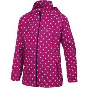 Lewro JOLKA 116 - 134 růžová 128-134 - Dívčí šusťáková bunda