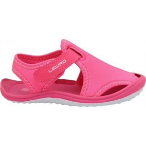 Lewro MELLOW růžová 29 - Dětské sandály