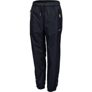 Lewro GOUDY černá 164-170 - Dětské šusťákové kalhoty