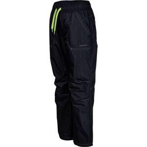 Lewro LEI zelená 128-134 - Dětské zateplené kalhoty