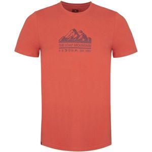 Loap BEIK červená XXL - Pánské triko