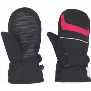 Loap NICO růžová 8 - Dětské palcové rukavice