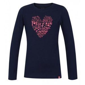 Loap ANIKLA modrá 122-128 - Dívčí triko