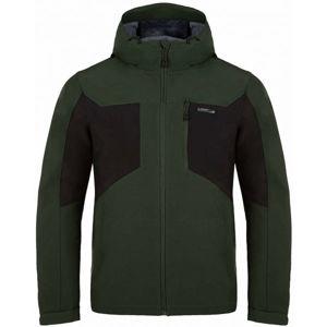 Loap LATRIC zelená XXL - Pánská softshellová bunda