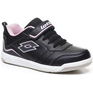 Lotto SET ACE XIII CL SL černá 28 - Dětská volnočasová obuv
