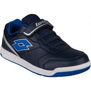 Lotto SET ACE XII CL SL modrá 31 - Dětská volnočasová obuv