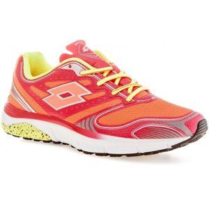 Lotto MOONRUN III W oranžová 7.5 - Dámská běžecká obuv