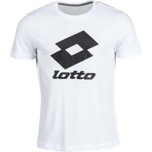 Lotto SMART TEE JS bílá XL - Pánské tričko