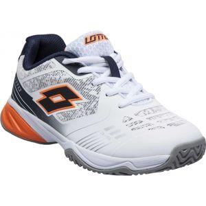 Lotto STRATOSPHERE IV JR L bílá 35 - Dětská tenisová obuv