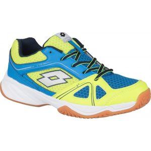 Lotto JUMPER 400 II JR L žlutá 35 - Dětská sálová obuv