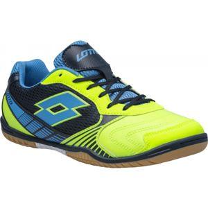 Lotto TACTO II 500 zelená 6 - Pánská sálová obuv