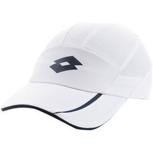 Lotto TENNIS CAP PK6PCS bílá  - Tenisová kšiltovka