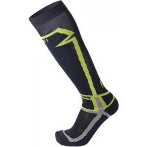 Mico SKI SOCK-BASIC modrá XL - Lyžařské ponožky