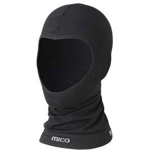 Mico WARM JNR černá NS - Lyžařská juniorská zateplovací kukla