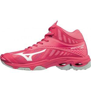 Mizuno WAVE LIGHTNING Z4 W MID růžová 7 - Dámská volejbalová obuv