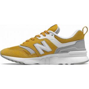 New Balance CW997HAF oranžová 5.5 - Dámská volnočasová obuv