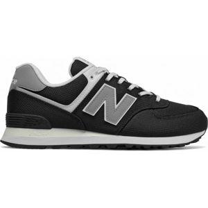 New Balance ML574SCI černá 7.5 - Pánská volnočasová obuv